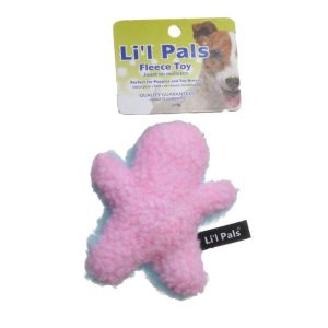 Li'l Pals Plush Man Dog Toy