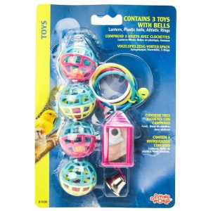 Living World Bird Toys with Bells