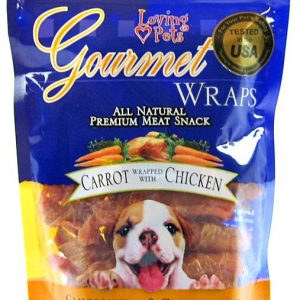 Loving Pets Gourmet Carrot & Chicken Wraps