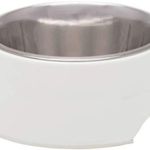 Loving Pets Ice White Retro Bowl