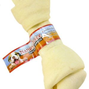 Loving Pets Nature's Choice 100% Natural Rawhide Knotted Bones
