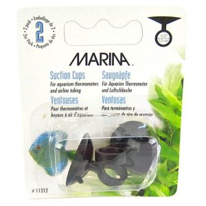 Marina Thermometer Suction Cups - Black