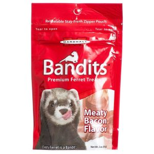 Marshall Bandits Premium Ferret Treats - Bacon Flavor