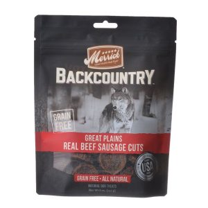 Merrick Backcountry Great Plains Real Beef Sausage Cuts