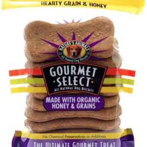 Natures Animals Gourmet Select Hearty Grain and Honey Organic Dog Buscuits