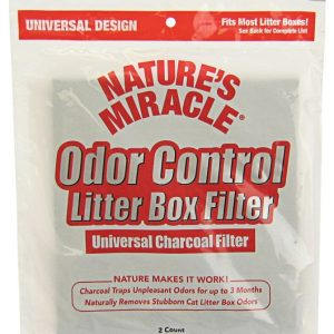 Nature's Miracle Odor Control Litter Box Filter