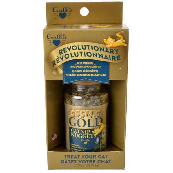 OurPets Cosmic Gold Catnip Nuggets