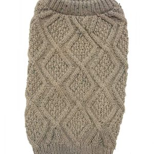 Outdoor Dog Fisherman Dog Sweater - Taupe