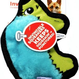 Outward Hound Invincibles Minis Turquoise Hedgehog Dog Toy