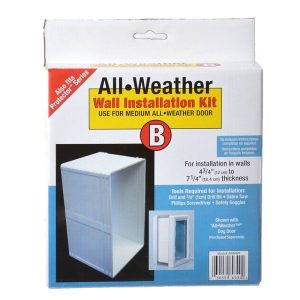 Perfect Pet All Weather Wall Installation Kit