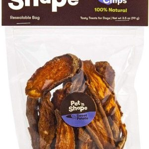 Pet 'n Shape Natural Sweet Potato Chips Dog Treats