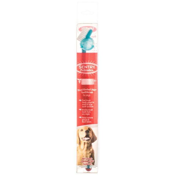 Petrodex Dual Ended 360 Degree Toothbrush for Dogs