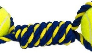 Petsport Knotted Rope Bumper with Tuff Balls