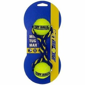 Petsport Tug Max Mini Tuff Balls Dog Toy