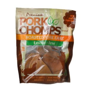 Pork Chomps Roasted Pork Skin Pig Earz