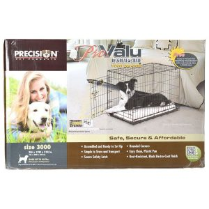 Precision Pet Pro Value by Great Crate - 1 Door Crate - Black