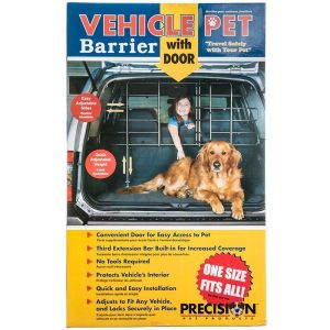 Precision Pet Vehicle Pet Barrier with Door