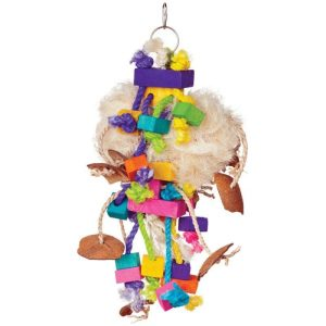 Prevue Bodacious Bites Tough Puff Bird Toy