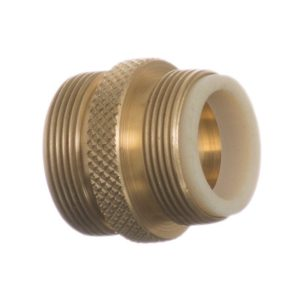 Python No Spill Clean & Fill Male Brass Adapter