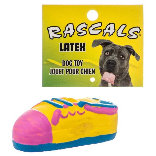 Rascals Latex Small Tennis Shoe Dog Toy