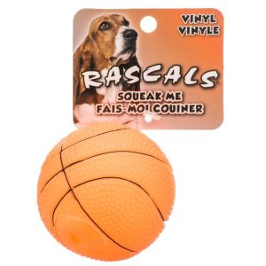 Rascals Vinyl Basketball for Dogs