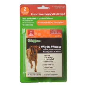 Sentry Worm X Plus - Large Dogs