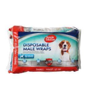 Simple Solution Disposable Male Wraps - Small