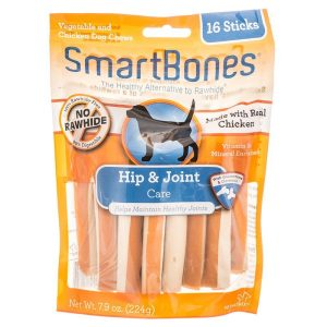 SmartBones Hip & Joint Care Treat Sticks for Dogs - Chicken