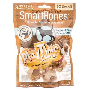 SmartBones PlayTime Chews for Dogs - Peanut Butter