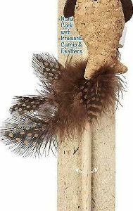 Spot Corkies Teaser Wand Cat Toy with Cat Nip - Assorted Colors