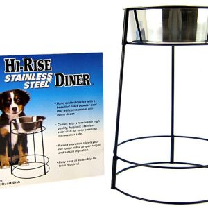 Spot Hi-Rise Single Stainless Steel Diner