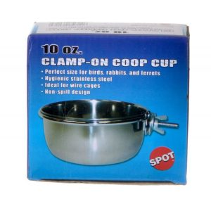 Spot Stainless Steel Coop Cup with Bolt Clamp