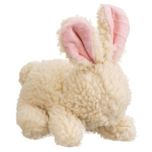 Spot Vermont Style Fleecy Rabbit Shaped Dog Toy