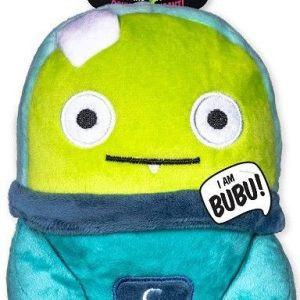 Spunky Pup Alien Flex Buba Plush Dog Toy