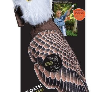 Spunky Pup Fly and Fetch Eagle Dog Toy