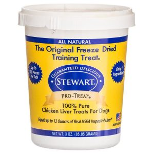 Stewart Pro-Treat 100% Freeze Dried Chicken Liver for Dogs