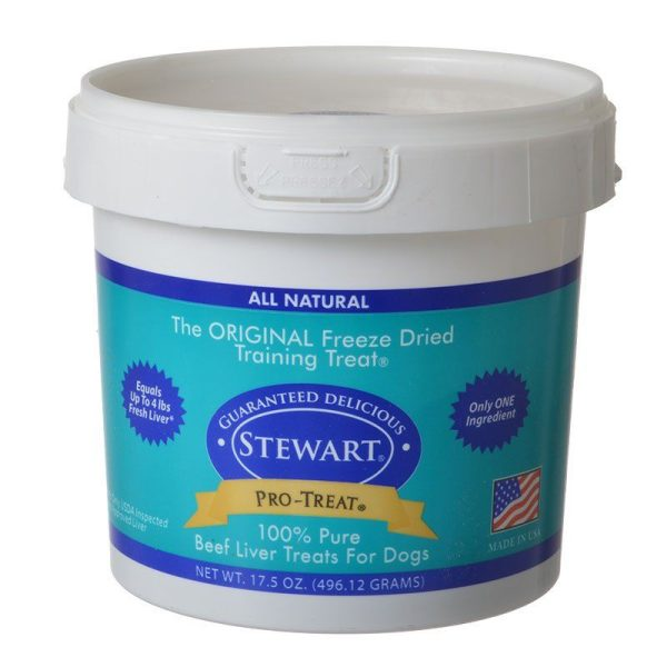 Stewart Pro-Treat 100% Pure Beef Liver for Dogs
