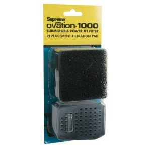 Supreme Ovation Submersible Power Jet Filter Replacement Filtration Pack