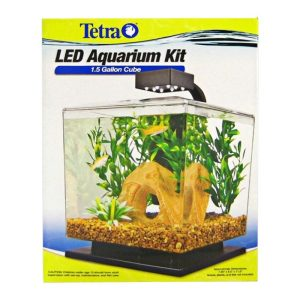 Tetra Cube Aquarium Kit with LED Lighting