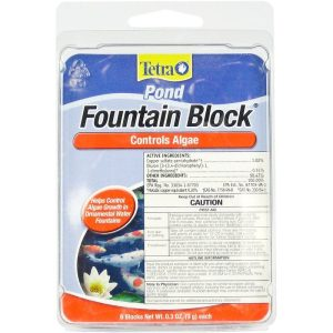 Tetra Pond Fountain Block Algae Control