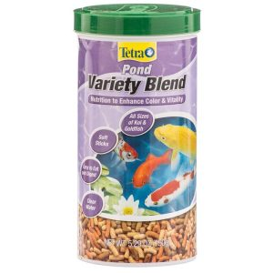 Tetra Pond Variety Blend Fish Food Sticks