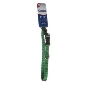 Tuff Collar Nylon Adjustable Collar - Hunter Green