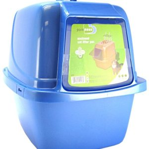 Van Ness Enclosed Cat Litter Pan