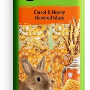 Vitakraft Crunch Sticks for Rabbits Carrot & Honey Flavored Glaze