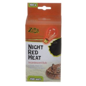 Zilla Incandescent Night Red Heat Bulb for Reptiles
