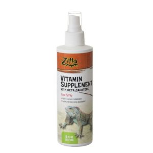 Zilla Vitamin Supplement with Beta Carotene