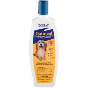 Zodiac Oatmeal Conditioning Shampoo for Dogs & Puppies