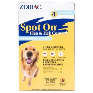 Zodiac Spot on Flea & Tick Controller for Dogs