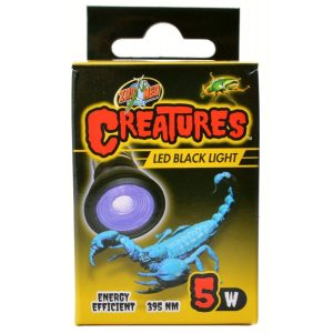 Zoo Med Creatures LED Black Light Lamp