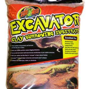 Zoo Med Excavator Clay Burrowing Reptile Substrate